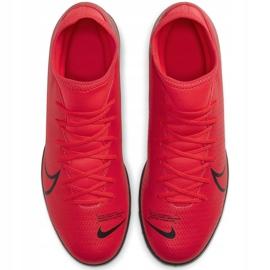 Buty piłkarskie Nike Mercurial Superfly 7 Club Tf AT7980 606 czerwone czerwone 7