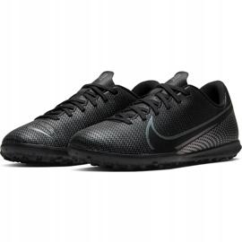 Buty piłkarskie Nike Mercurial Vapor 13 Club Tf Junior AT8177 010 czarne czarne 3
