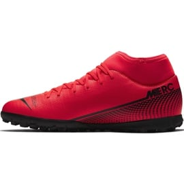 Buty piłkarskie Nike Mercurial Superfly 7 Club Tf AT7980 606 czerwone czerwone 1