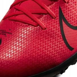 Buty piłkarskie Nike Mercurial Superfly 7 Club Tf AT7980 606 czerwone czerwone 4