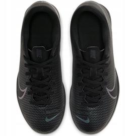 Buty piłkarskie Nike Mercurial Vapor 13 Club Tf Junior AT8177 010 czarne czarne 2