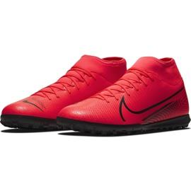 Buty piłkarskie Nike Mercurial Superfly 7 Club Tf AT7980 606 czerwone czerwone 2