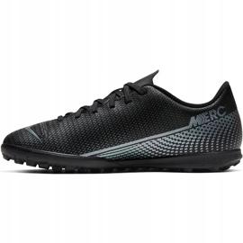 Buty piłkarskie Nike Mercurial Vapor 13 Club Tf Junior AT8177 010 czarne czarne 1