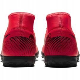 Buty piłkarskie Nike Mercurial Superfly 7 Club Tf AT7980 606 czerwone czerwone 3