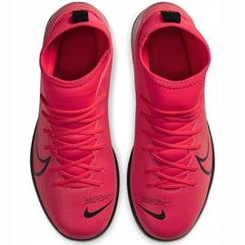 Buty piłkarskie Nike Mercurial Superfly 7 Club Tf Junior AT8156 606 czerwone czerwone 1