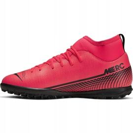 Buty piłkarskie Nike Mercurial Superfly 7 Club Tf Junior AT8156 606 czerwone czerwone 2