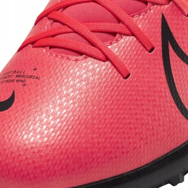 Buty piłkarskie Nike Mercurial Superfly 7 Club Tf Junior AT8156 606 czerwone czerwone 5