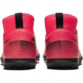 Buty piłkarskie Nike Mercurial Superfly 7 Club Tf Junior AT8156 606 czerwone czerwone 4