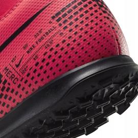 Buty piłkarskie Nike Mercurial Superfly 7 Club Tf Junior AT8156 606 czerwone czerwone 6