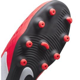 Buty piłkarskie Nike Tiempo Legend 8 Club FG/MG Junior AT5881 606 czerwone czerwone 6