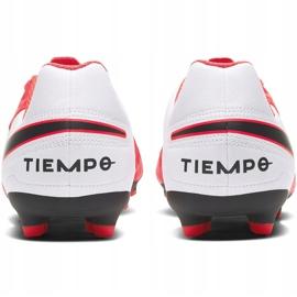 Buty piłkarskie Nike Tiempo Legend 8 Club FG/MG Junior AT5881 606 czerwone czerwone 4