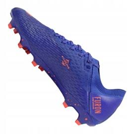Buty piłkarskie New Balance Furon v6 Pro Fg CO6 814070-60 wielokolorowe fioletowe 3