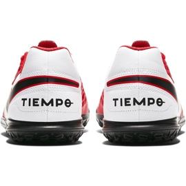 Buty piłkarskie Nike Tiempo Legend 8 Club Tf Junior AT5883 606 czerwone czerwone 4