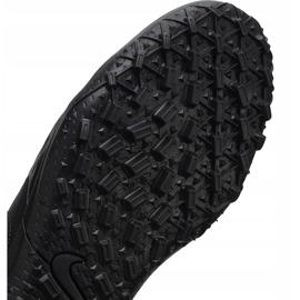 Buty piłkarskie Nike Tiempo Legend 8 Club Tf Junior AT5883 010 czarne czarne 7