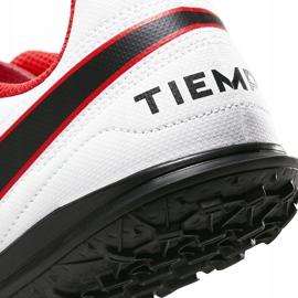 Buty piłkarskie Nike Tiempo Legend 8 Club Tf Junior AT5883 606 czerwone czerwone 6