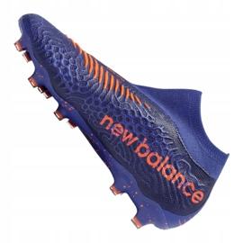 Buty piłkarskie New Balance Tekela v3 Pro Fg BG3 M 814510-60 wielokolorowe fioletowe 1