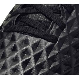 Buty piłkarskie Nike Tiempo Legend 8 Club Tf Junior AT5883 010 czarne czarne 5