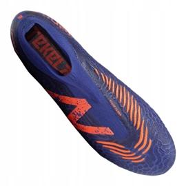 Buty piłkarskie New Balance Tekela v3 Pro Fg BG3 M 814510-60 wielokolorowe fioletowe 3