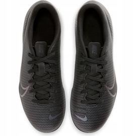 Buty piłkarskie Nike Mercurial Vapor 13 Club FG/MG Junior AT8161 010 czarne czarne 1