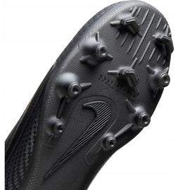 Buty piłkarskie Nike Mercurial Vapor 13 Club FG/MG Junior AT8161 010 czarne czarne 6