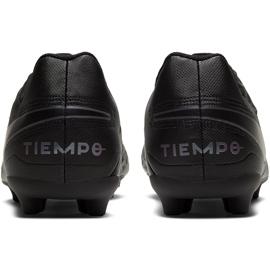 Buty piłkarskie Nike Tiempo Legend 8 Club FG/MG AT6107 010 czarne czarne 4