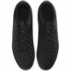 Buty piłkarskie Nike Tiempo Legend 8 Club FG/MG AT6107 010 czarne czarne 1