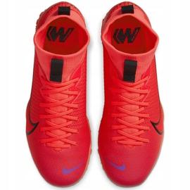 Buty piłkarskie Nike Mercurial Superfly 7 Academy Tf AT7978 606 czerwone czerwone 1