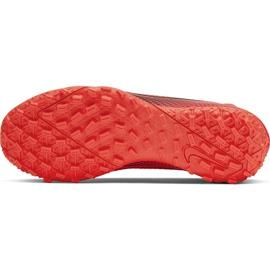 Buty piłkarskie Nike Mercurial Superfly 7 Academy Tf AT7978 606 czerwone czerwone 8