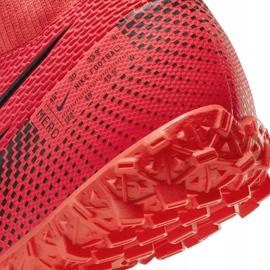 Buty piłkarskie Nike Mercurial Superfly 7 Academy Tf AT7978 606 czerwone czerwone 6