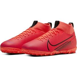 Buty piłkarskie Nike Mercurial Superfly 7 Academy Tf AT7978 606 czerwone czerwone 3