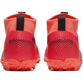 Buty piłkarskie Nike Mercurial Superfly 7 Academy Tf AT7978 606 czerwone czerwone 4