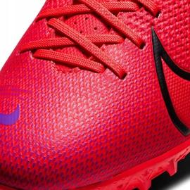 Buty piłkarskie Nike Mercurial Vapor 13 Academy Tf Junior AT8145 606 czerwone czerwone 5