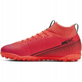 Buty piłkarskie Nike Mercurial Superfly 7 Academy Tf AT7978 606 czerwone czerwone 2