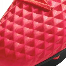 Buty piłkarskie Nike Tiempo Legend 8 Club FG/MG AT6107 606 czerwone czerwone 4