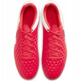 Buty piłkarskie Nike Tiempo Legend 8 Club FG/MG AT6107 606 czerwone czerwone 1