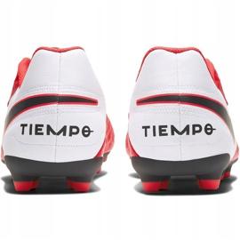Buty piłkarskie Nike Tiempo Legend 8 Club FG/MG AT6107 606 czerwone czerwone 3
