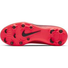 Buty piłkarskie Nike Mercurial Superfly 7 Club FG/MG Junior AT8150 606 czerwone czerwone 5