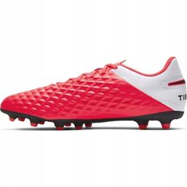 Buty piłkarskie Nike Tiempo Legend 8 Club FG/MG AT6107 606 czerwone czerwone 2