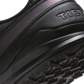 Buty piłkarskie Nike Tiempo Legend 8 Academy Tf AT6100 010 czarne czarne 6