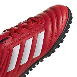 Buty piłkarskie adidas Copa 20.4 Tf czerwone Junior EF1925 3