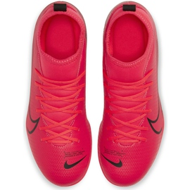 Buty piłkarskie Nike Mercurial Superfly 7 Club FG/MG Junior AT8150 606 czerwone czerwone 1