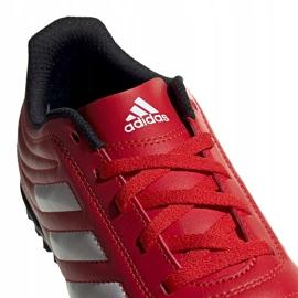 Buty piłkarskie adidas Copa 20.4 Tf czerwone Junior EF1925 4