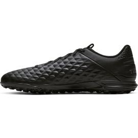 Buty piłkarskie Nike Tiempo Legend 8 Academy Tf AT6100 010 czarne czarne 2