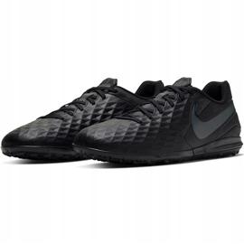 Buty piłkarskie Nike Tiempo Legend 8 Academy Tf AT6100 010 czarne czarne 3