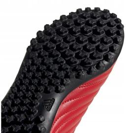 Buty piłkarskie adidas Copa 20.4 Tf czerwone Junior EF1925 5