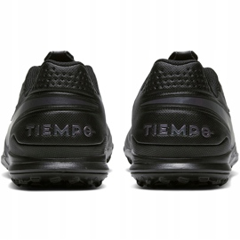 Buty piłkarskie Nike Tiempo Legend 8 Academy Tf AT6100 010 czarne czarne 4