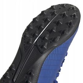 Buty piłkarskie adidas X 19.3 Tf Junior EG7172 niebieskie niebieskie 5