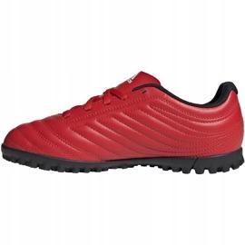 Buty piłkarskie adidas Copa 20.4 Tf czerwone Junior EF1925 2