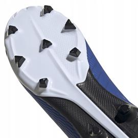 Buty piłkarskie adidas X 19.3 Fg Junior EG7152 niebieskie niebieskie 5