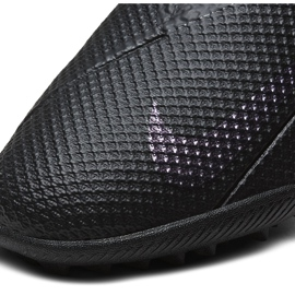 Buty piłkarskie Nike Phantom Vsn 2 Academy Df Tf CD4172 010 czarne czarne 5